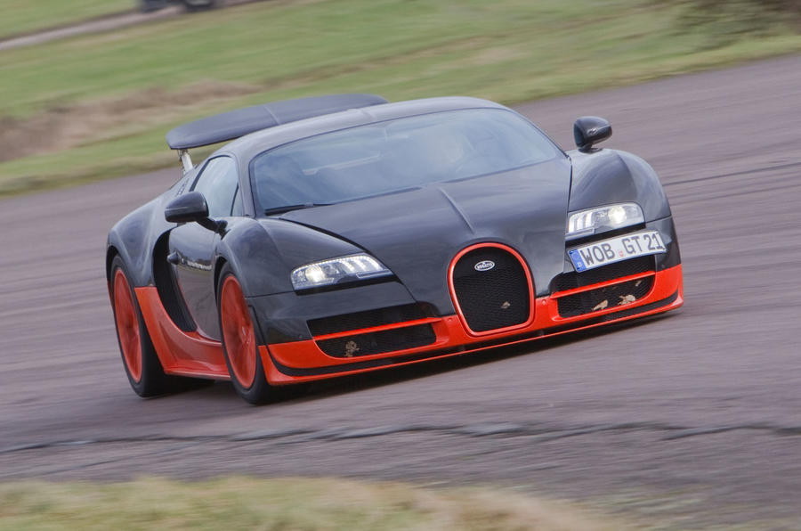 World's fastest production cars - Bugatti Veyron Super Sport