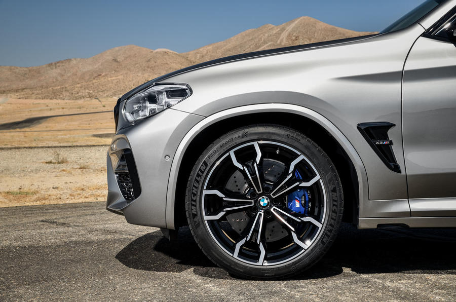 BMW X3M official press - alloy wheels