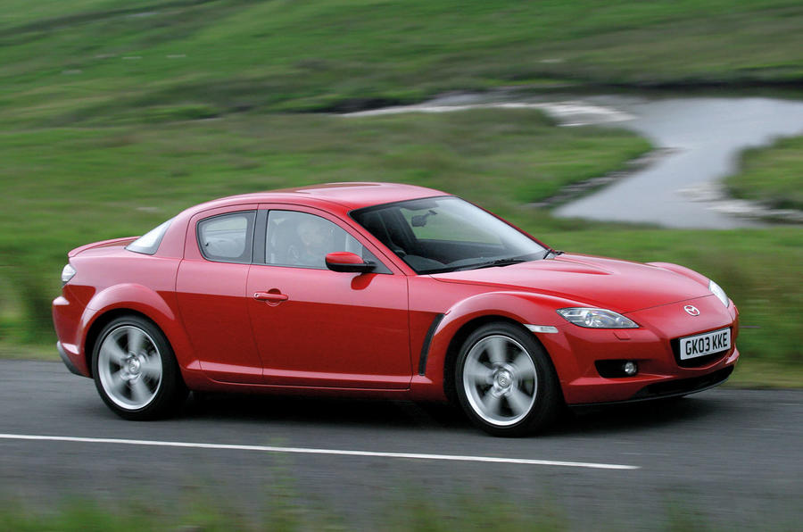 Mazda RX-8 used buying guide - side