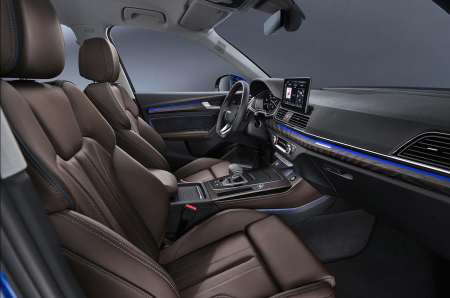 Audi Debuts 2021 Q5 Sportback, a Slant-Roofed Variant of Q5 SUV
