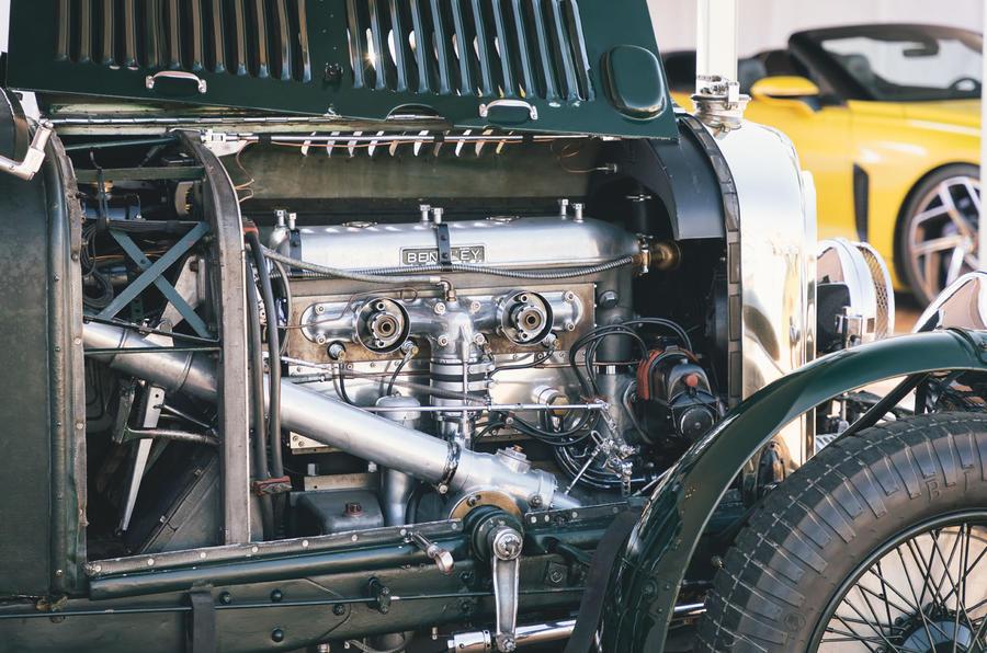 Bentley Blower Continuation - engine