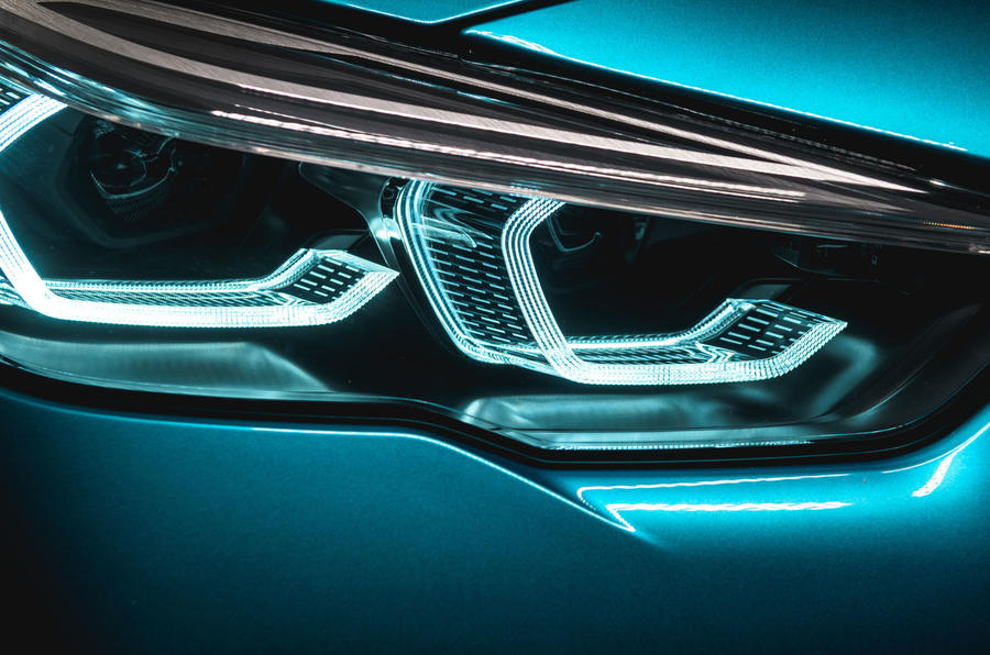 BMW 2 Series Gran Coupé studio reveal - headlights