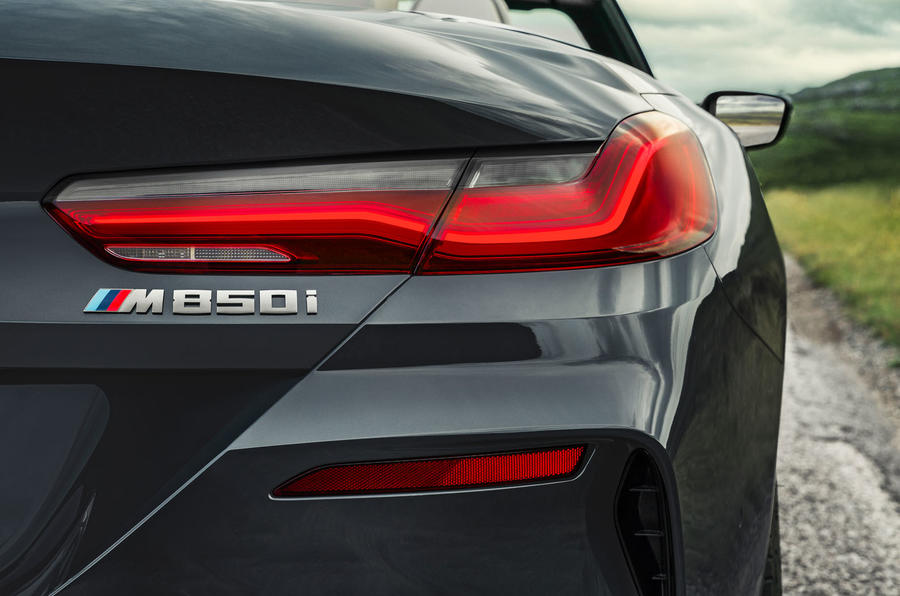 BMW 8 Series cabriolet 2018 official reveal - rear lights