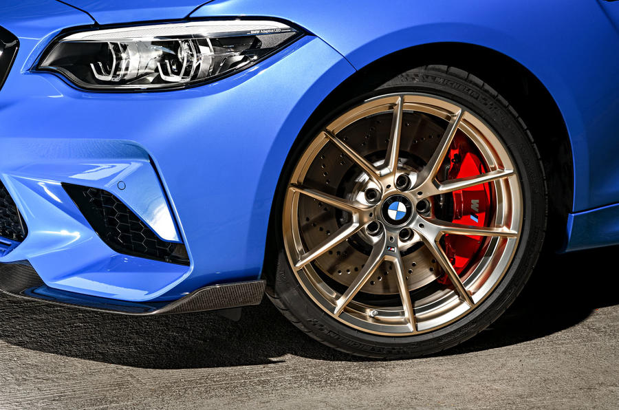 BMW CS 2020 official press images - alloy wheels