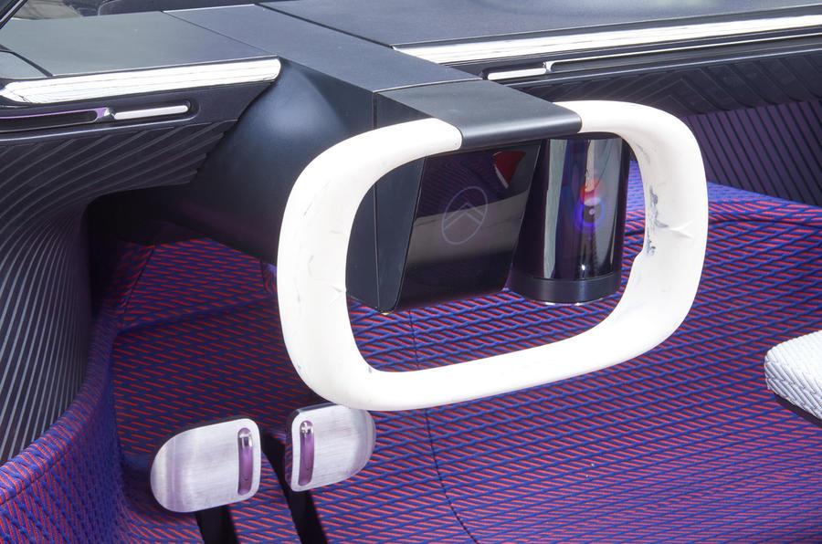 Citroen 19_19 concept official reveal - steering wheel