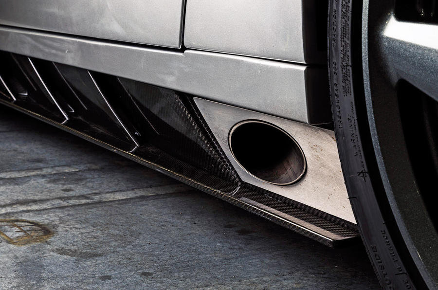 Ginetta supercar reveal exclusive pictures - exhaust