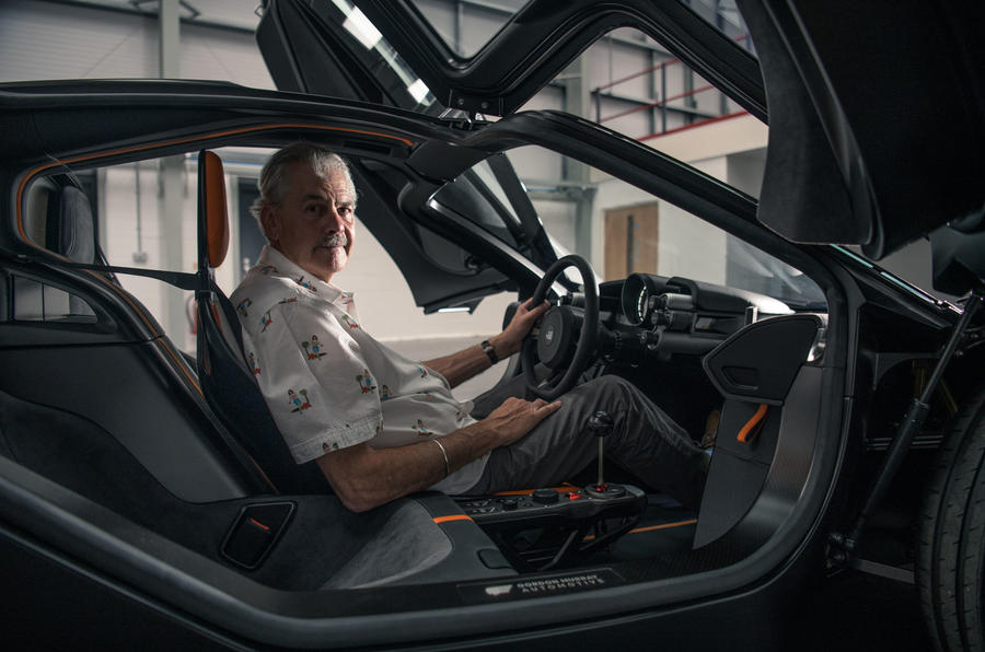 Gordon Murray T50 official reveal - Murray