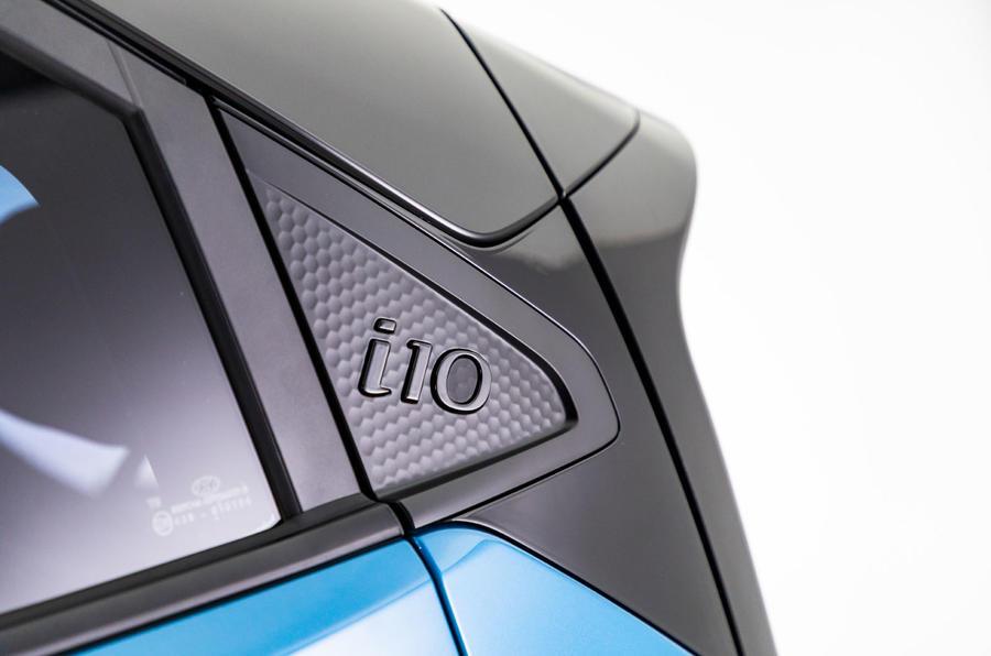 Hyundai i10 2019 reveal - studio X pillar