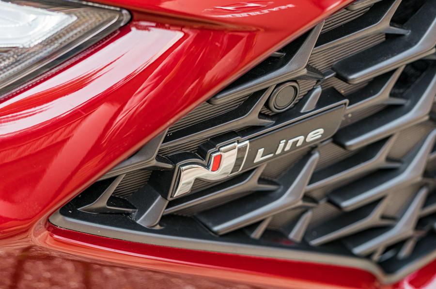 2020 Hyundai i30 N-Line prototype drive review - N-Line badge