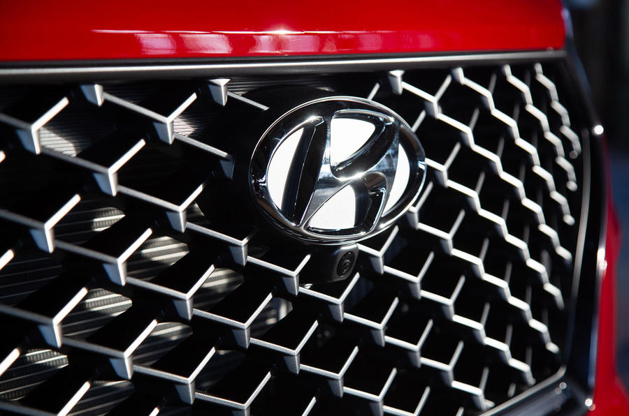 Hyundai Tucson N Line 2019 reveal - front grille