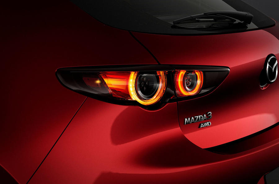 Mazda 3 2018 official reveal - rear lights