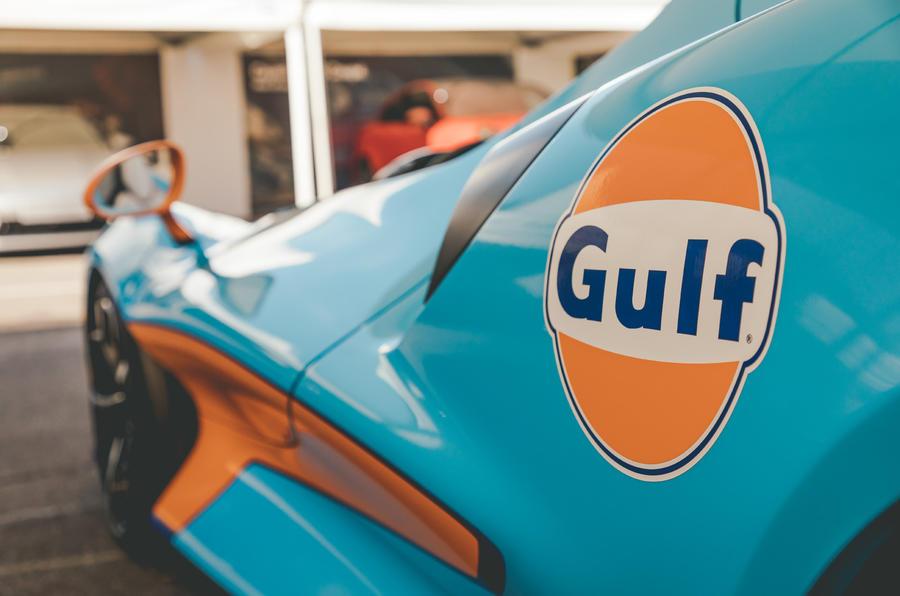 McLaren Elva Goodwood Speedweek reveal - side