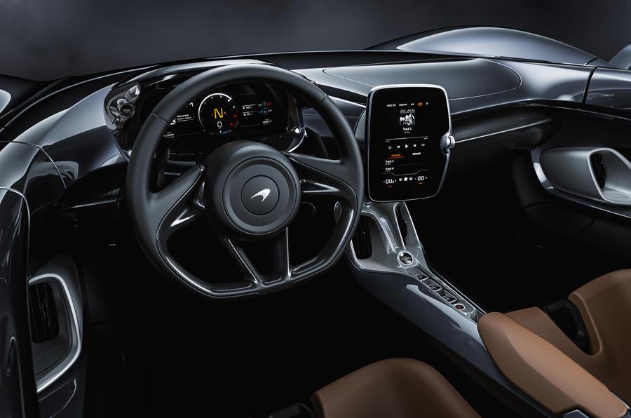McLaren Elva official reveal - cabin
