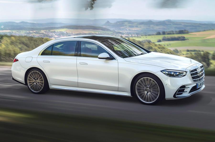 Mercedes-Benz S-Class - side