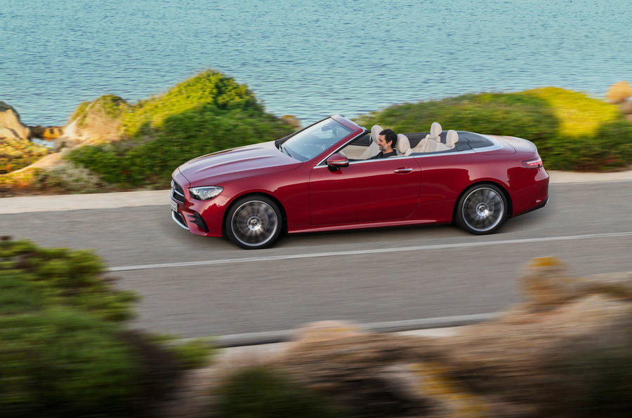Mercedes-Benz E-Class cabriolet 2020 facelift - official images - side