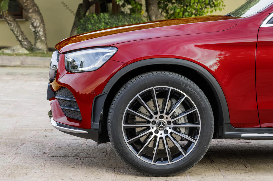 Mercedes GLC Coupe 2019 press - alloy wheels