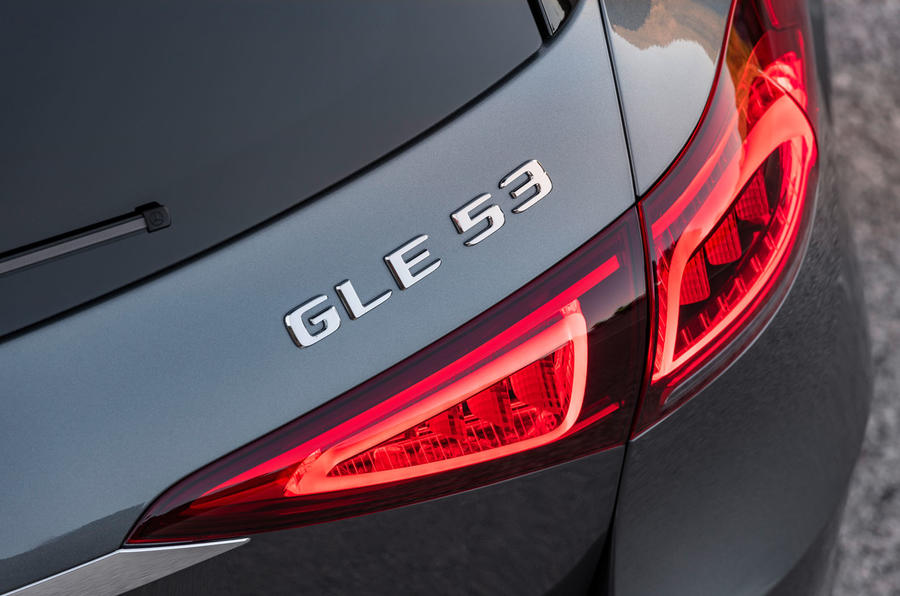 Mercedes-AMG GLE 53 official press reveal - rear badge