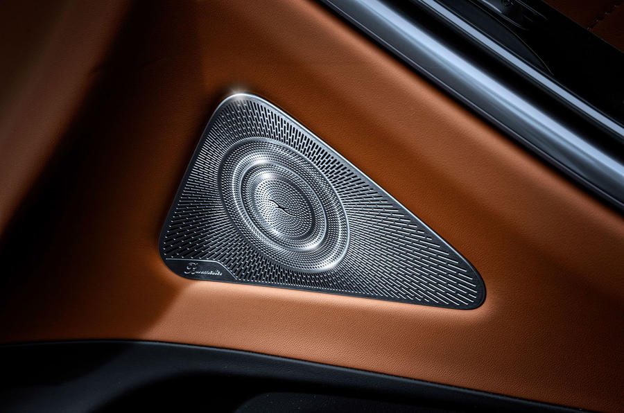 Mercedes-Benz S Class interior official images - speakers