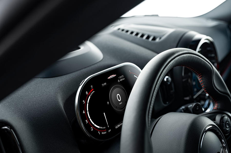 Mini Countryman 2020 facelift - official press images - instruments