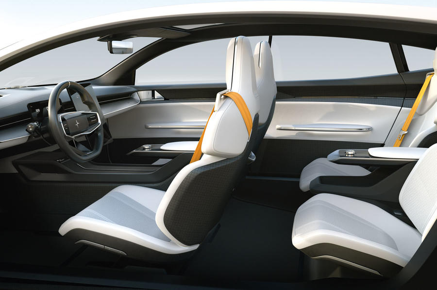 Polestar Precept concept official images - cabin