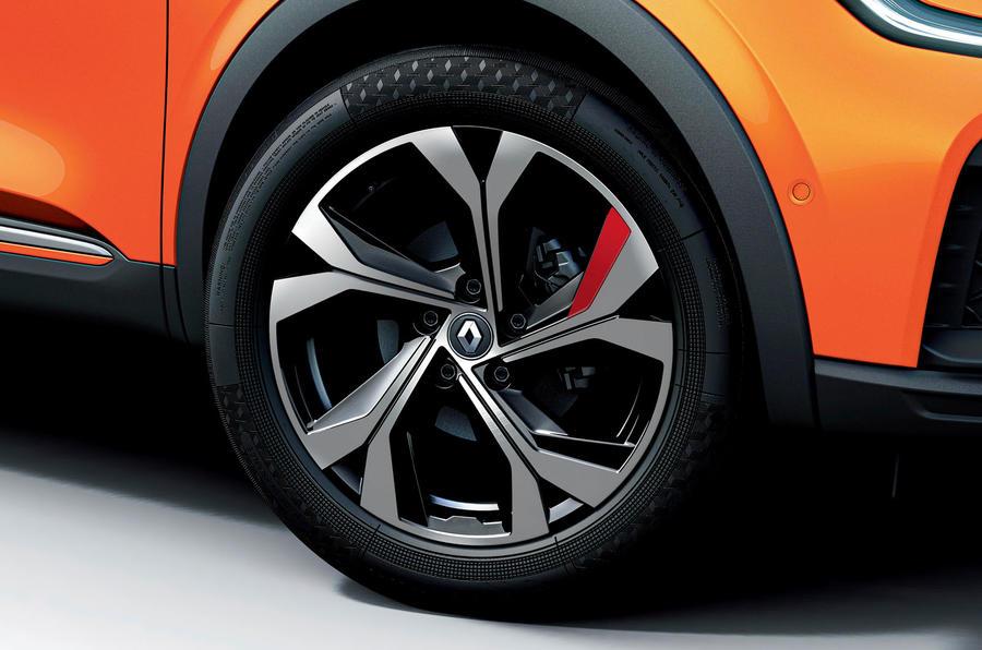 2021 Renault Arkana official European images - alloy wheels