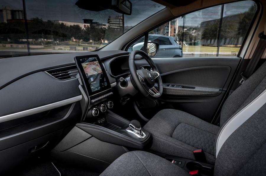 Renault Zoe van 2020 official images - cabin