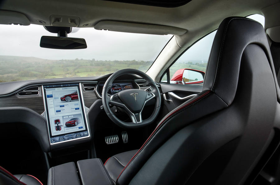 Tesla Model S - car of the decade - cabin