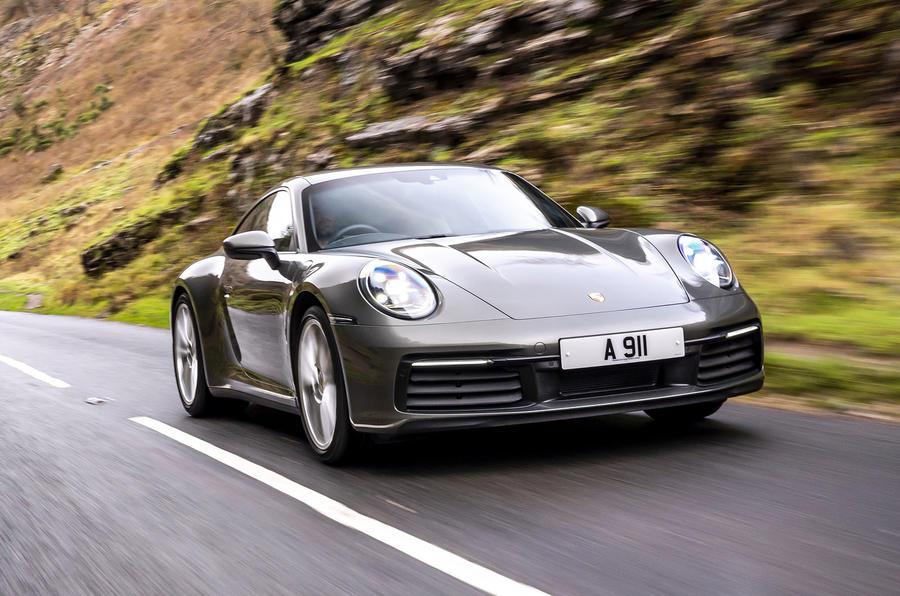 Top 50 cars 2020 - final five - Porsche 911 992