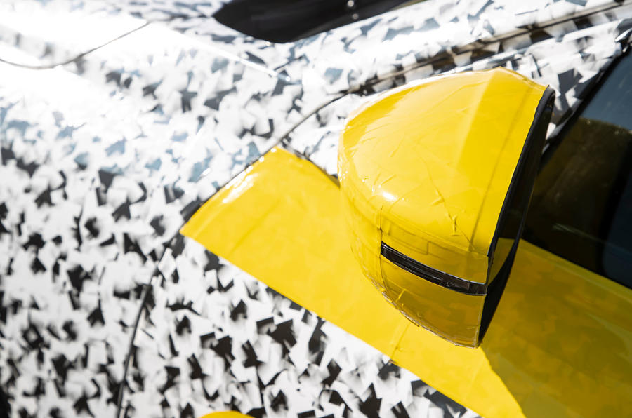 Vauxhall Corsa 2019 prototype drive - wing mirrors