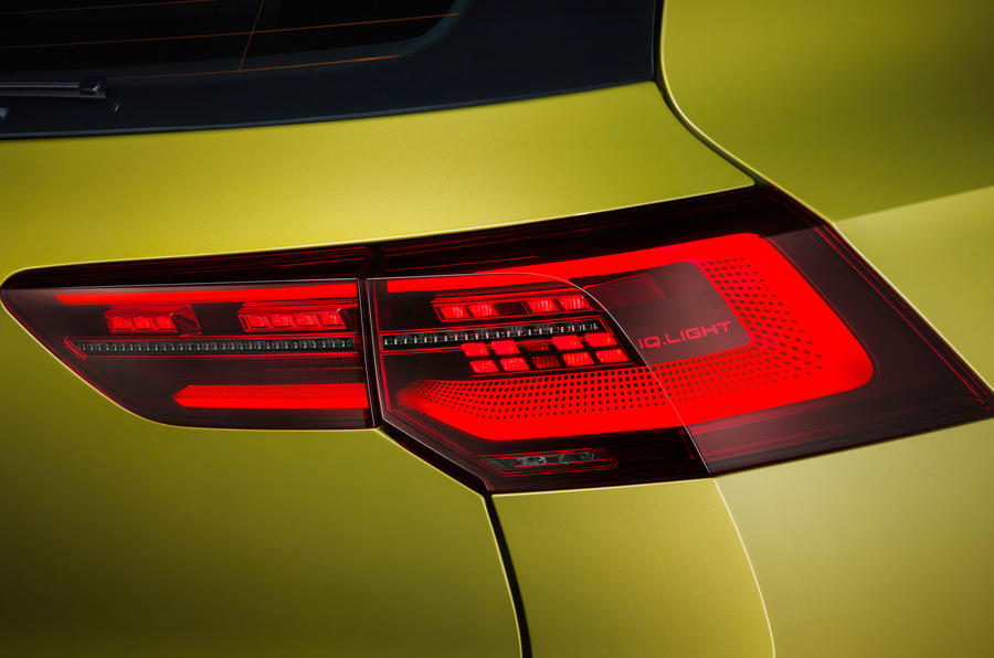 2020 Volkswagen Golf Mk8 official press - rear lights