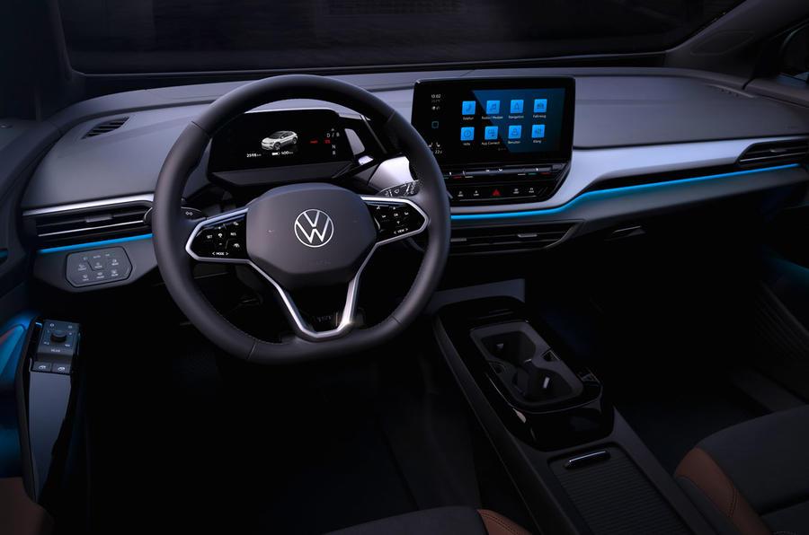 2021 Volkswagen ID 4 prototype drive - dashboard