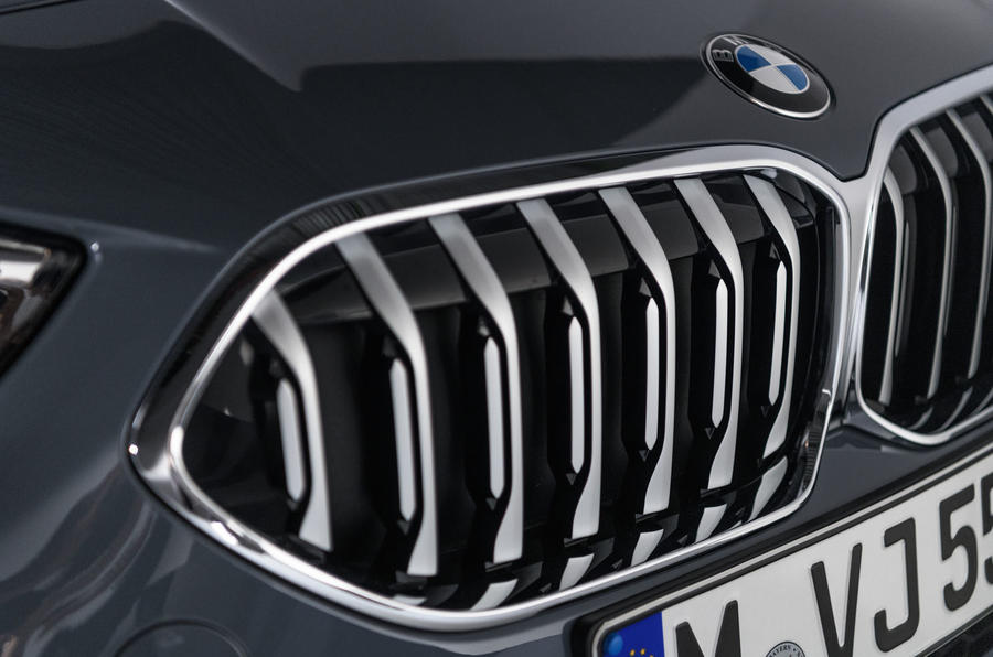 BMW 2 Series Gran Coupe studio static - kidney grille