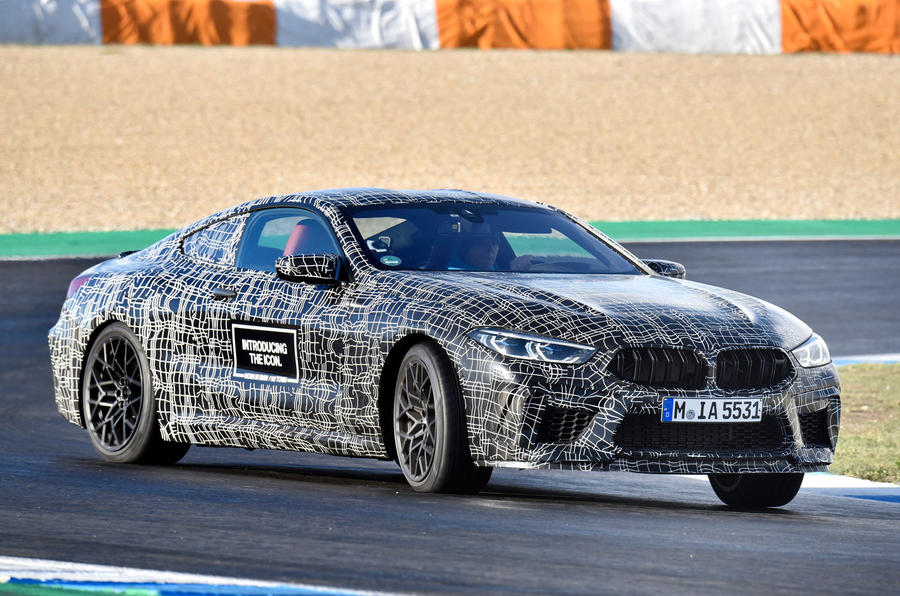 2019 BMW M8 prototype ride - slide front