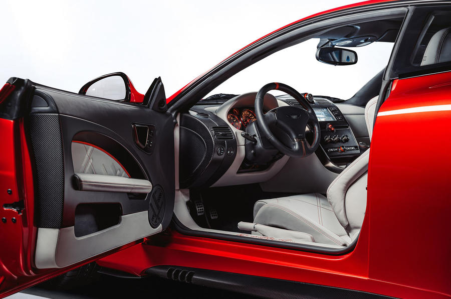 Callum Aston Martin Vanquish 25 first drive review - door card