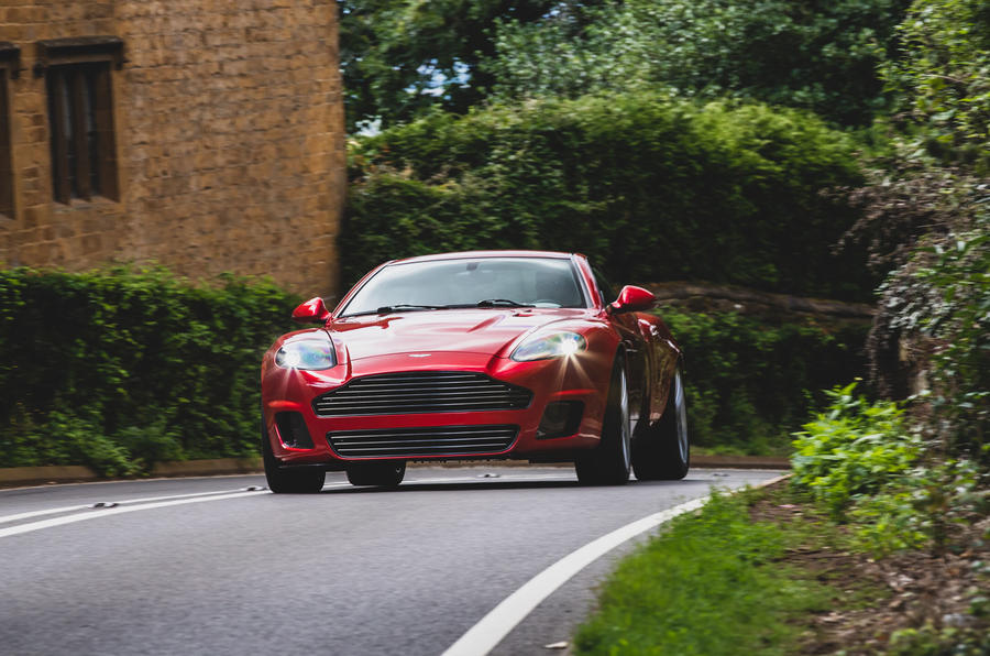 CALLUM Vanquish 25 production specification revealed - on the road nose