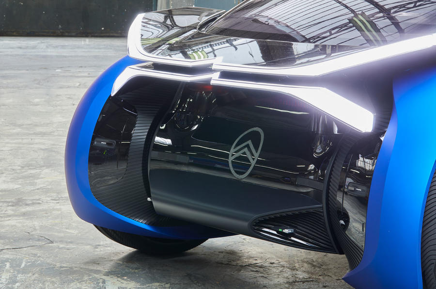 Citroen 19_19 concept official reveal - front end
