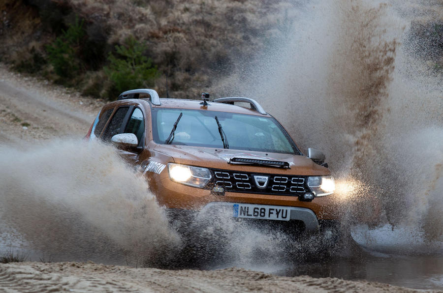 Dacia x Future Terrain - splash action