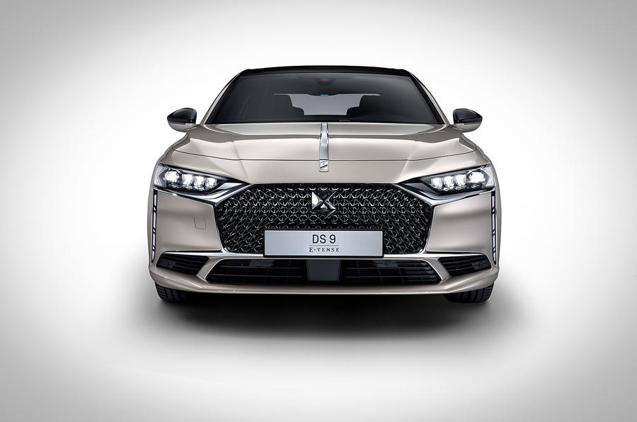 DS 9 official studio images - front grille