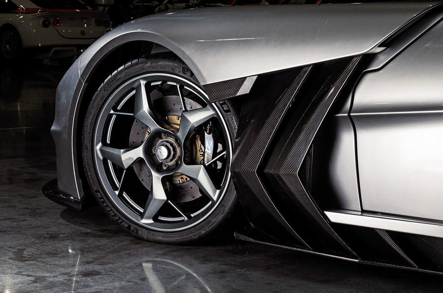 Ginetta supercar reveal exclusive pictures - alloy wheels