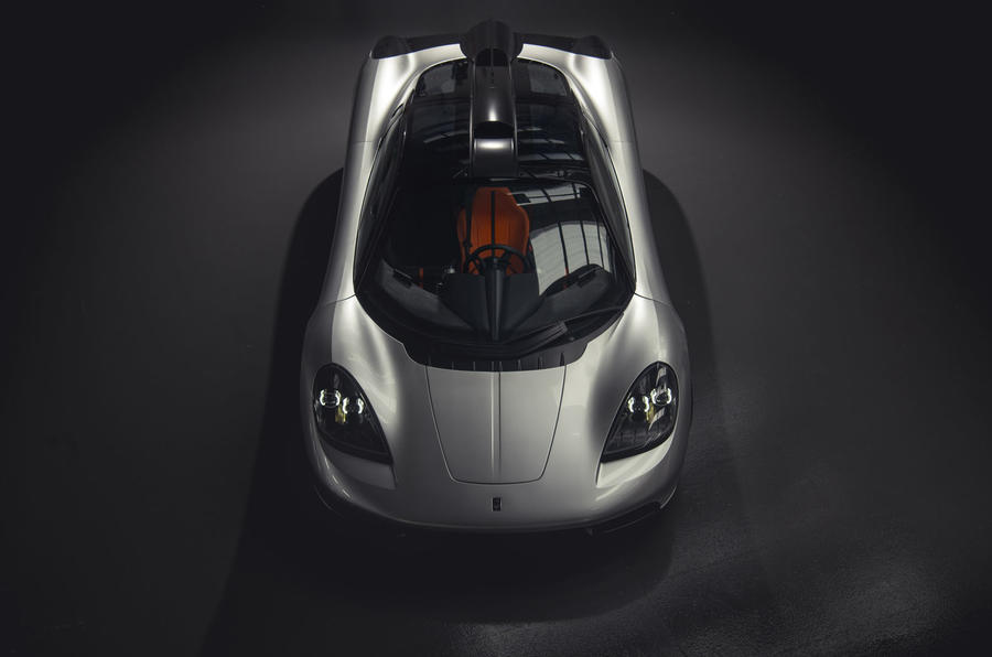 Gordon Murray T50 official reveal - aerial
