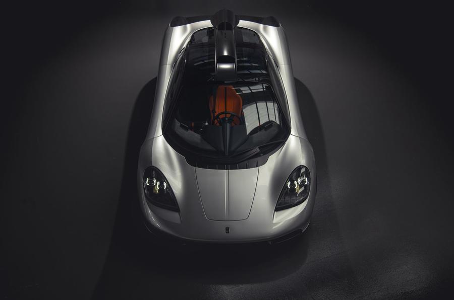 Gordon Murray Automotive T50 - aerial