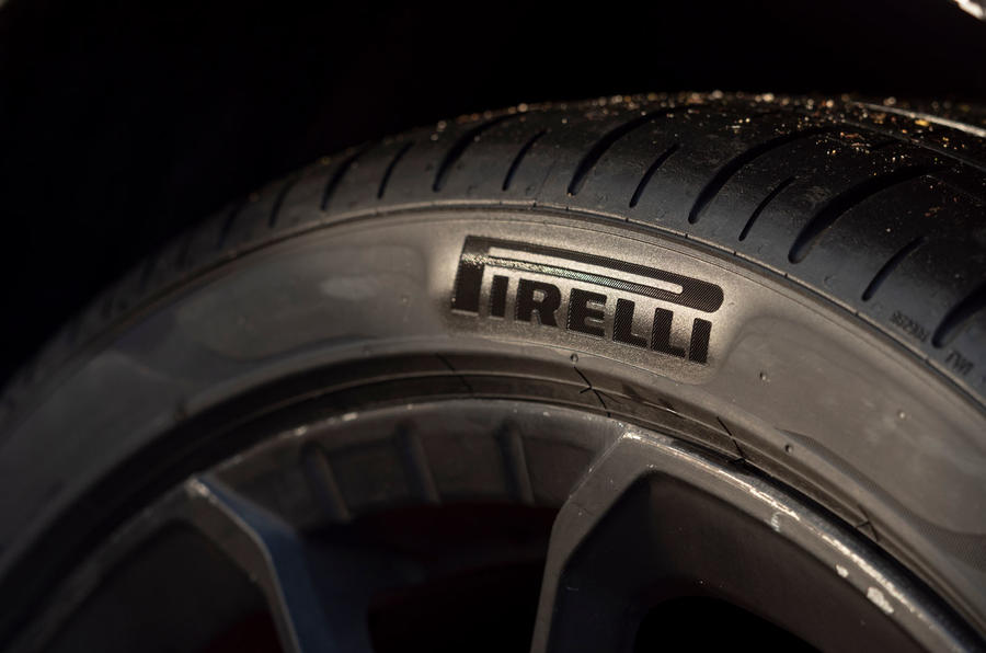 96 Hyundai Kona N prototype drive tyres