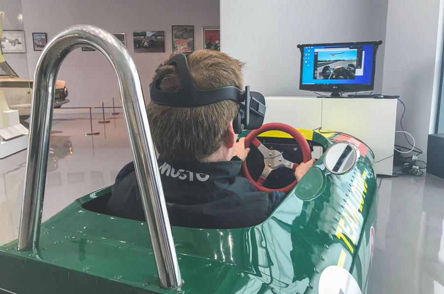 Jim Clark Museum preview day - virtual reality