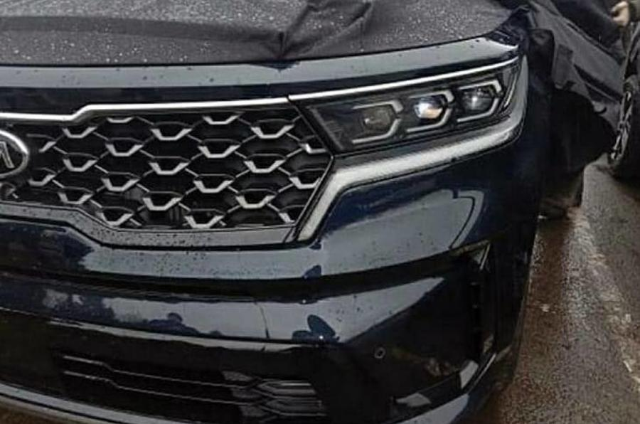 2020 Kia Sorento facelift - headlight