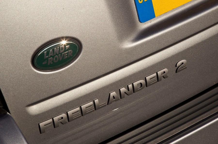 Land Rover Freelander 2 used buying guide - rear badge