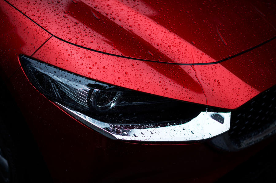 Mazda CX-30 2019 Geneva motor show reveal - headlights