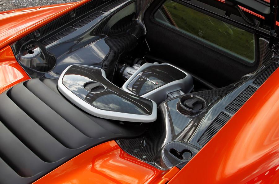 McLaren 12C - car of the decade - engine