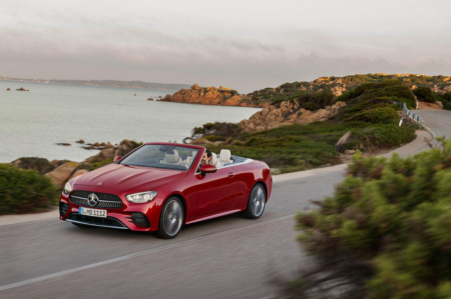 Mercedes-Benz E-Class cabriolet 2020 facelift - official images - front