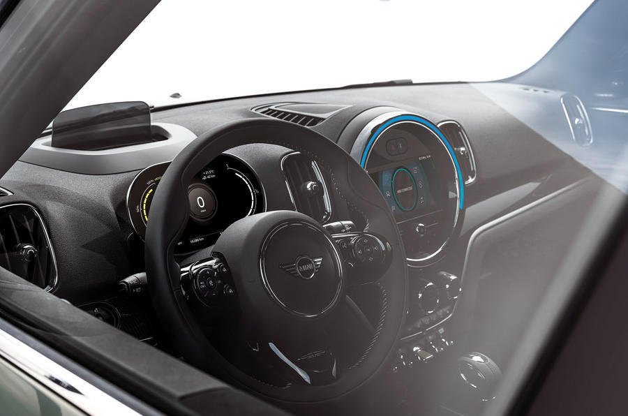 Mini Countryman 2020 facelift - official press images - interior