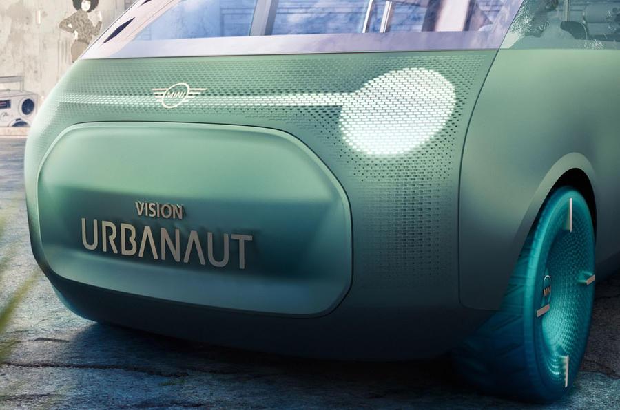 2020 Mini Urbanaut concept - front end